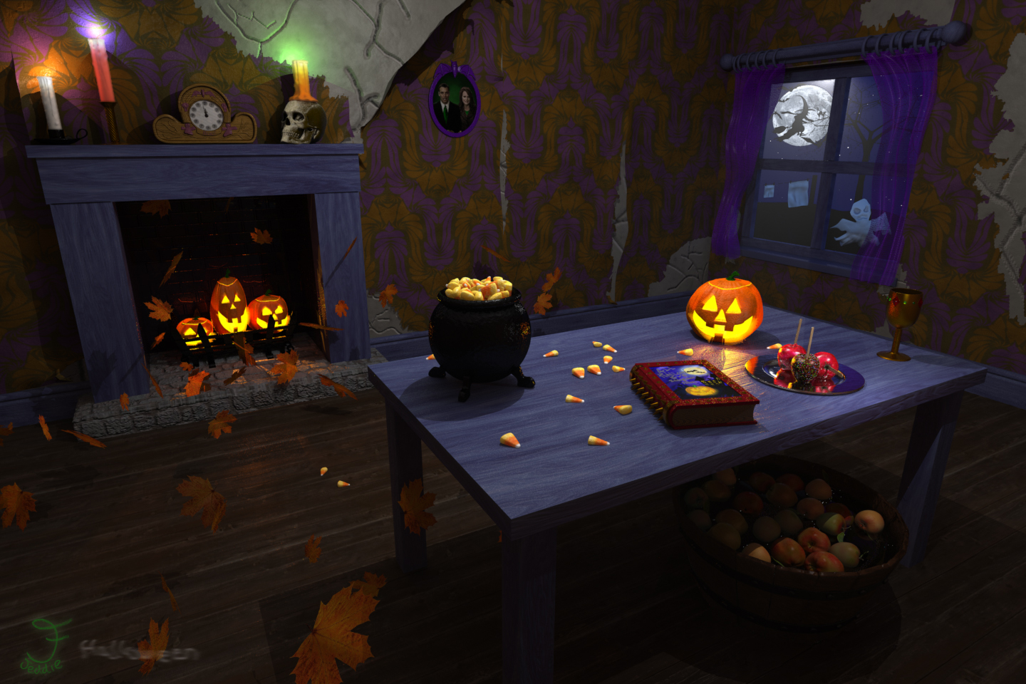 The foundry community forums haunted room for Halloween haunted room ideas