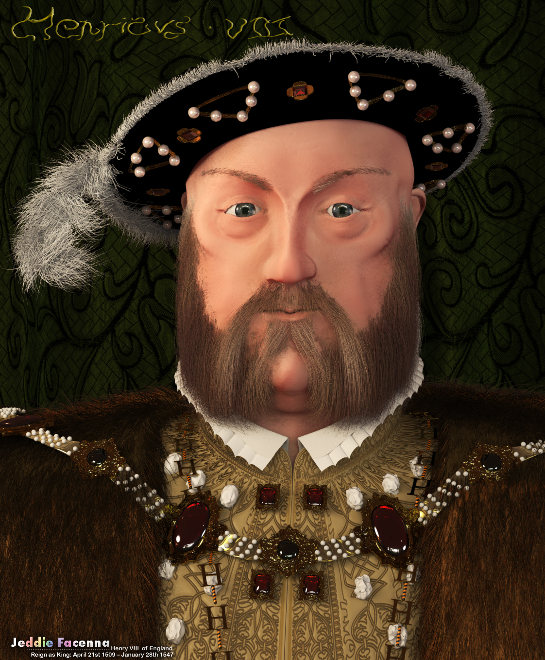 henry viii The birth of henry viii's legitimate son, prince edward, led directly to the destruction of the manor of cuddington to celebrate both the securing of the succession and the arrival of the 30th year of his reign, henry decided to build a palace which would have no equal - hence the name, nonsuch.